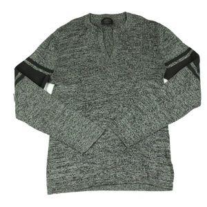 Gentlemen's Long Sleeve Gray Shirt Express Size M
